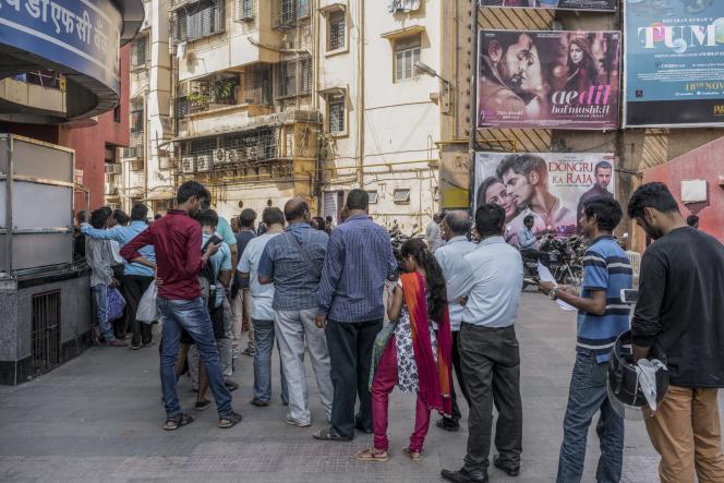 Séance de projection d'«Ae dil hai mushkil» au cinéma PVR à Sion, Bombay, en novembre 2016. Le film, où figure un acteur pakistanais au générique, a failli ne pas sortir.