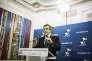« Libéral-conservateur, notre futur président serait ainsi plus proche de Georges Pompidou que de Philippe Séguin – mais Pompidou, lui, avait au moins été agrégé, comme Juppé, et banquier, comme Macron » (Photo: François Fillon à son QG fait sa déclaration).