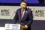 Le président chinois, Xi Jinping, au sommet de l'APEC, à Lima, le 19 novembre.
