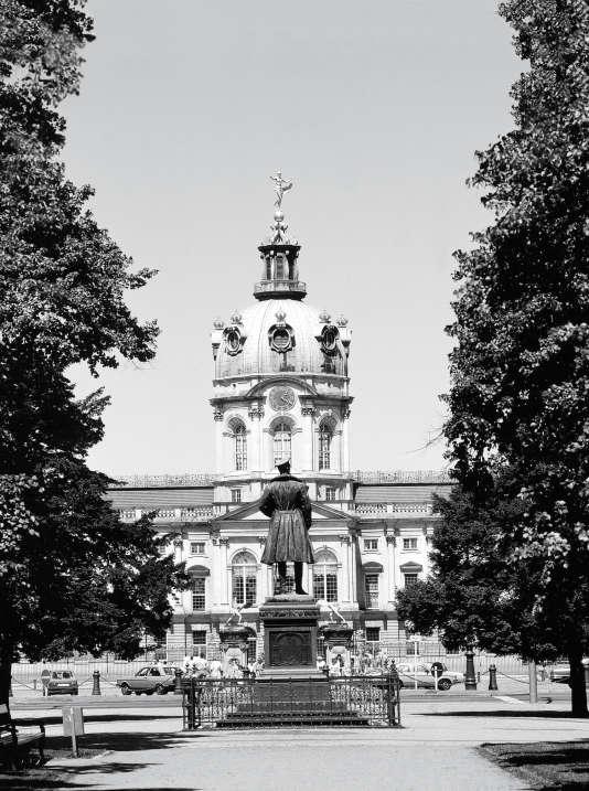 Le châteaude Charlottenburg en 1986.