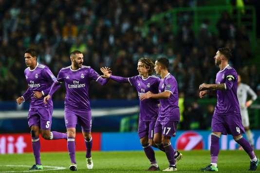 Karim Benzemaa marqué face au Sporting Portugal, mardi 22 novembre.