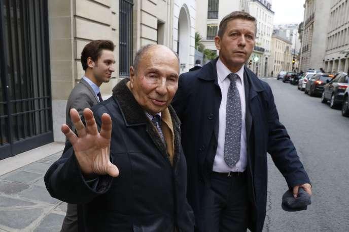 Serge Dassault, à Paris, le 22 novembre.