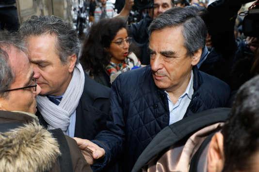 François Fillon, le 21 novembre à Paris.