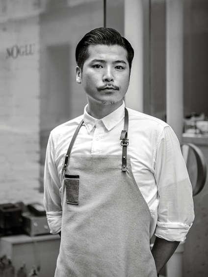 Tsuyoshi Miyazaki, le chef japonais, propose une cuisine pleine de fraîcheur et bien maîtrisée.