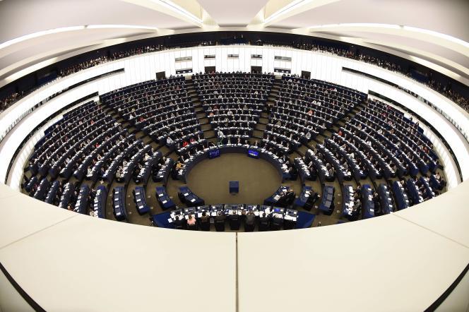 A l'intérieur du Parlement européen, à Bruxelles, le 22 novembre 2016.