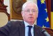 Armand De Decker (MR) lors d'une présentation de la nouvelle coalition, le 17 octobre 2012 à Bruxelles.