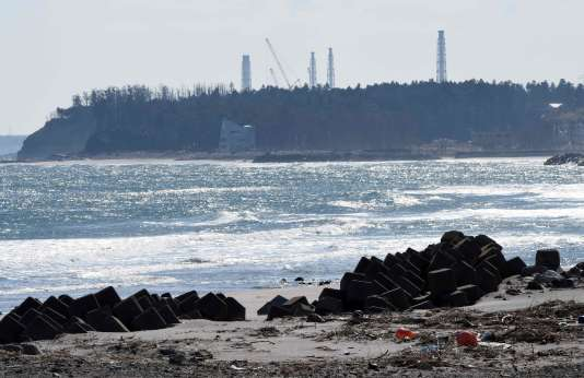 Le site de Fukushima, en février 2016.