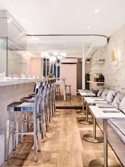 Le restaurant Noglu du Marais a ouvert le 8 novembre 2016.