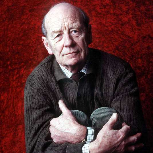 Le romancier irlandais William Trevor, en 1993.