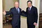 Vladimir Poutine et François Fillon, le 21 mars 2013.