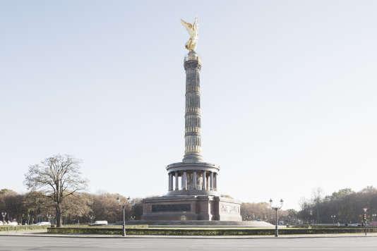 Du haut de cette statue, une fois gravies ses 285 marches, la vue sur Berlin est imprenable.