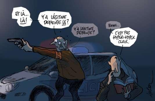Légitime Défense © Aurel