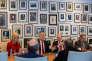 Le président élu Donald Trump lors de sa rencontre avec les journalistes du New York Times le 22 novembre.