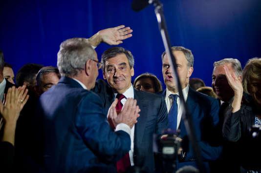 Francois Fillon à Lyon, le 22 novembre.