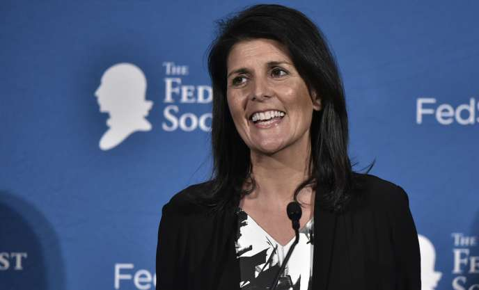 Nikki Haley, le 18 novembre à Washington.
