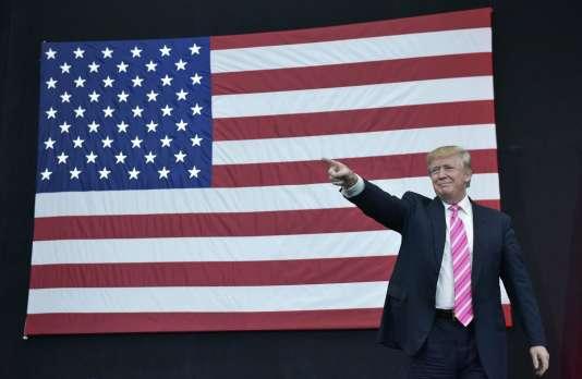Donald Trump en octobre 2016.