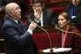 Michel Sapin, ministre de l'économie et des finances, à l'Assemblée nationale, le 22 novembre.