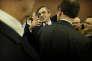 François Fillon lors de sa rencontre avec les parlementaires à la Maison de la chimie à Paris, le 22 novembre.