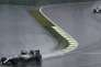 Formula One - F1 - Brazilian Grand Prix - Circuit of Interlagos, Sao Paulo, Brazil - 13/11/2016 - Mercedes' Lewis Hamilton of Britain (L) takes a curve ahead of teammate Nico Rosberg of Germany. REUTERS/Paulo Whitaker