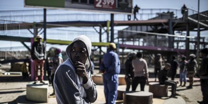 En juillet 2016, dans le township de Soweto, en banlieue de Johannesburg.