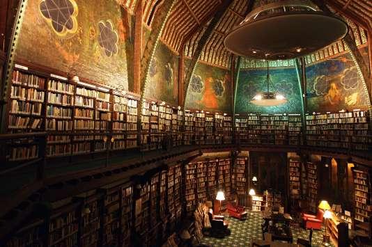 L'Union Library, une des bibliothèques de l'université d'Oxford, au Royaume-Uni.
