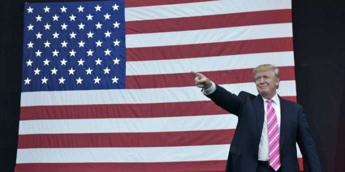 Donald Trump pendant la campagne présidentielle à Philadelphie, le 2 octobre 2016.