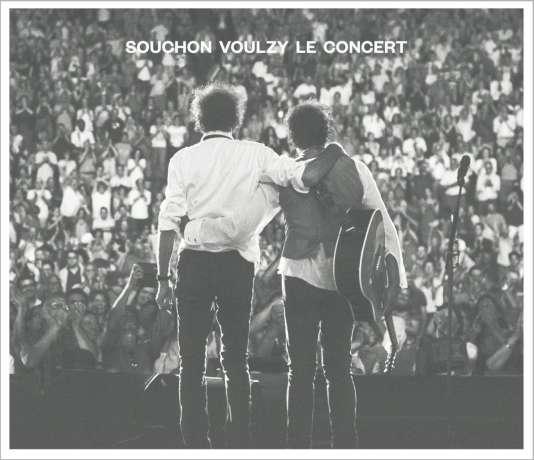 Pochette de l'album« Le Concert», d'Alain Souchon et Laurent Voulzy.