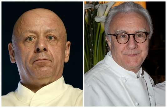 Thierry Marx et Alain Ducasse restent sur les rails du succès avec leur deux nouveaux restaurants.