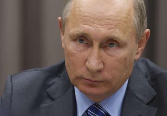 Vladimir Poutine, le 21 septembre 2016.