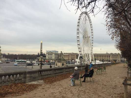 Marcel Campion, surnommé le «roi des forains», a voulu expliquer, jeudi midi, les raisons du blocage de la place de la Concorde dans la matinée par une centaine de forains avec leurs poids lourds.