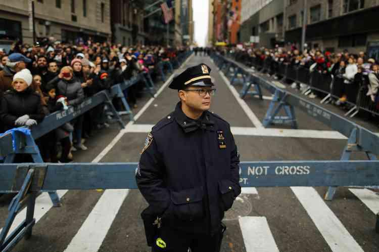 La présence policière a été massive par crainte d'un attentat sur le modèle de celui qui avait frappé Nice le 14 juillet dernier.