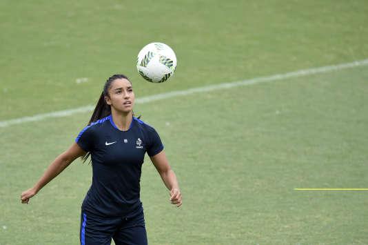 Sakina Karchaoui lors des JO de Rio.