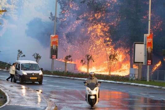 A Haïfa, le 24novembre.