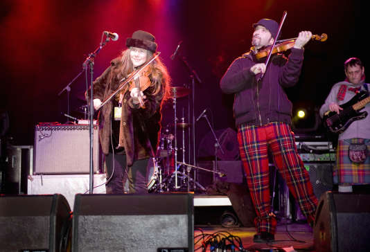 Le festival de musique Hogmanay se prolonge jusqu'au 2 janvier en Ecosse.