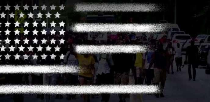 Image tirée de la mini-série d'Arte,« Noire Amérique», qui retrace la lutte des Afro-Américains pour la dignité et le respect de leur identité.