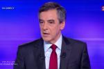 François Fillon au débat de l'entre deux tours de la primaire de la droite
