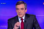 François Fillon au débat de l'entre-deux tour de la primaire à droite.