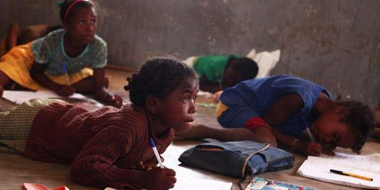Dans la région d'Androy, dans le sud de Madagascar, en 2012.