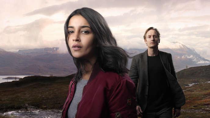 Kahina (Leïla Bekhti) et Anders Harnesk (Gustaf Hammarsten).