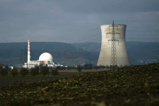 La centrale nucléaire de Leibstadt, dans le nord de la Suisse, le 13 novembre 2016.