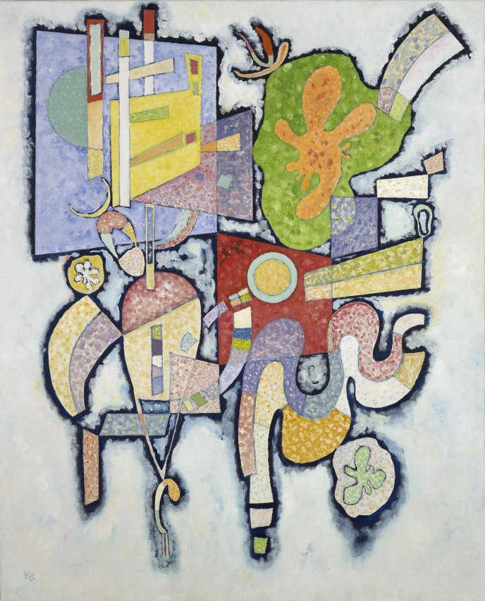 « Complexité simple (Ambiguité) » (1939), de Kandinsky