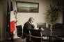 Xavier Bertrand, président des Hauts-de-France, dans son bureau du siège de la région, à Lille, le 23novembre.