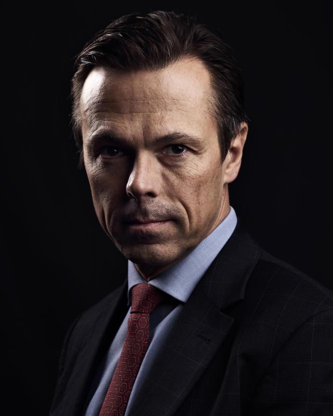L'homme d'affaires allemand Martin Gruschka, à Paris le 22 novembre.