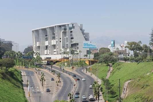 L'université d'ingénierie et de technologie (UTEC) de Lima au Pérou, réalisée par Grafton Architects, Prix international du Riba 2016.