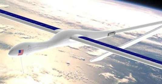 Un projet de drone de haute altitude imaginé par Titan Aerospace