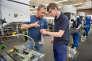 Formation alternée de mécanique industrielle, au centre de formation du fabricant de pompes KSB, en 2013.