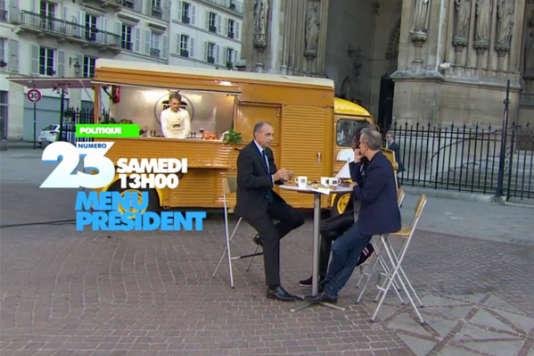« Menu Président », sur Numéro 23, a notamment reçu Jean-François Copé.