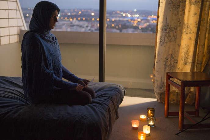 Naomie Amarger dans le film «Le ciel attendra».