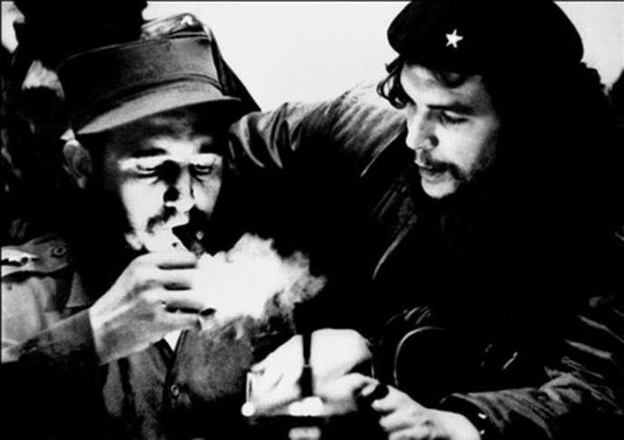 Fidel Castro et le «Che»,dans les années 1960.
