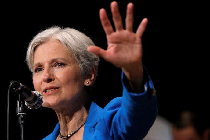 Jill Stein en campagne à Chicago, dans l'Illinois, le 8 septembre 2016.